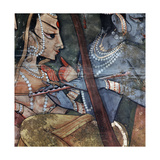 A Detail from One of the Legends of Krishna Wydruk giclee