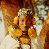 A Fulah Woman Photographed at Mopti Photographic Print