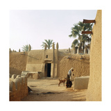 A House Made of Dried Mud in the Old Part of Kano, One of the Major Hausa-Fulani City States of… Giclee Print