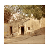 A House Made of Dried Mud in the Old Part of Kano, One Ofthe Major Hausa-Fulani City States of… Giclee Print