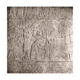Stone Relief from a Corridor in the Palace of Sennacherib Giclee Print