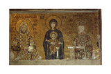 Mosaic in the South Gallery of Hagia  Sophia, Istanbul Giclee Print