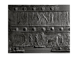 The Wooden Gates of Shalmaneser III with Bands of Relief Decoration in Bronze Giclee Print