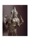 A Statue of Kali with Four Arms Giclee Print