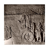 Stone Relief from the Palace of Sennacherib Giclee Print