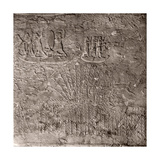 Stone Relief from the Corridor of the Palace of Sennacherib Giclee Print