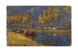 Barge Giclee Print by Henri Duhem