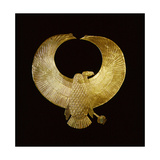 Collar in the Form of a Vulture, Ensuring the Wearer of Protection by the Goddess Nekhbet Reproduction procédé giclée