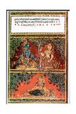 Illustration from the Poem Gita Govinda Giclee Print