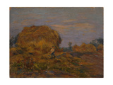 Haystacks Giclee Print by Henri Duhem
