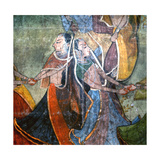 A Scene Depicting the Youth of Krishna Giclee Print