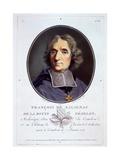 François Fénelon, from 'Portraits Des Grands Hommes, Femmes Illustres, Et Sujets Memorables De… Giclee Print by Antoine Louis Francois Sergent-marceau