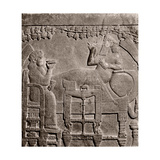 A Relief from the Palace of Ashurbanipal Giclee Print
