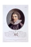 Charles De Crequi, from 'Portraits Des Grands Hommes, Femmes Illustres, Et Sujets Memorables De… Giclee Print by Antoine Louis Francois Sergent-marceau