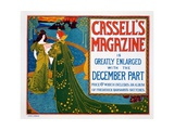 Advertisement for 'Cassell's Magazine', 1896 Giclee Print by Louis John Rhead