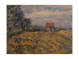 Shed in a Field Giclee Print by Henri Duhem