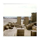 Graeco-Roman Remains at Wadi Natron Giclee Print
