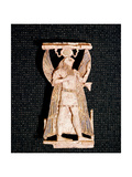 Phoenician Ivory Depicting the Egyptian God Horus Giclee Print