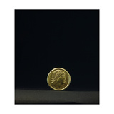 Constantine the Founder of New Rome Is Portrayed on a Gold Solidus Minted in Nicodemia in 335 Giclee Print
