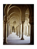 The Great Mosque at Kairouan, One of the Oldest Islamic Buildings and the First Important One in… Giclee Print