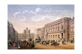 St James Palace and Conservative Club, Print Made by Ch. Riviere, 1862 Giclee Print by Achille-louis Martinet