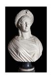 Bust of Madame Mere, Marie-Laetitia Ramolino Giclee Print by Lorenzo Bartolini