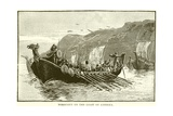 Norsemen on the Coast of America Giclee Print