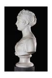 Bust of Caroline Bonaparte, Profile Giclee Print by Antonio Canova
