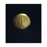 The Reverse of a Gold Scyphate (Coin) of Romanus Iv Giclee Print
