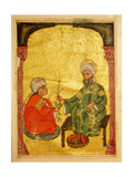 "A Scene from a 13th Century Arabic Version of ""Dioscorides"" Materia Medica Giclee Print"