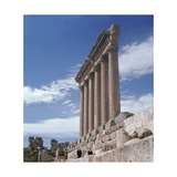 A View Towards the Temple Precinct of Baalbek, the Ancient Heliopolis Which Rose to Prominence… Giclee Print