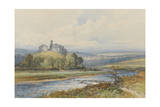 Okehampton Castle , C.1895-96 Giclee Print by Frederick John Widgery
