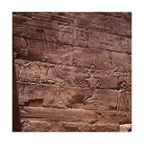 Relief from the Great Hypostyle Hall, South Wall, East Side Giclee Print