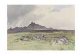 Hound Tor , C.1895-96 Giclee Print by Frederick John Widgery