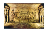 Offering Scene with the Sacred Bull, Apis Giclee Print