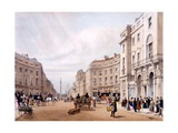 Regent Street, Looking Towards the Duke of York's Column, from 'London as it Is Drawn from… Giclee Print by Thomas Shotter Boys