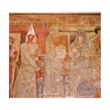 "The ""Fresco of Conon"" from Dura Europos, a Temple Dedicated in Ad 70 to the Palmyrene Gods Giclee Print"