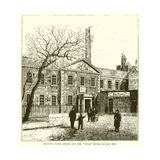 """Printing House Square and the """"Times"""" Office Giclee Print"""
