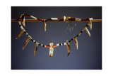 Hunter's Necklace Made from Ivory Pendants, Jaguar Teeth and Glass Beads Giclee Print