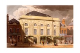 The Surrey Theatre, London, 1826 Giclee Print by Daniel Havell