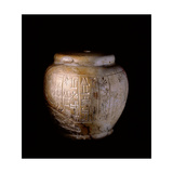 Sumerian Marble Mace Head Inscribed with Cuneiform Text Reading 'to Shara, Beloved Son of Inanna,… Giclee Print