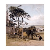 View of London from Greenwich Park, 1842 Giclee Print by Thomas Shotter Boys