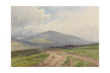 Yes Tor Near Okehampton, Dartmoor , C.1895-96 Giclee Print by Frederick John Widgery