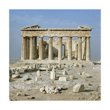 The Eastern Facade of the Parthenon Giclee Print