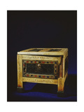 Inlaid Ivory Panelled Casket from the Reign of Ramesses Ix Giclee Print