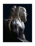 A Statue of King Chephren Giclee Print