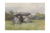 The Spinster Rock, Drewsteignton , C.1895-96 Giclee Print by Frederick John Widgery