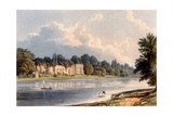 Pope's Villa at Twickenham, 1828 Giclee Print by William Westall