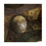 View of the Interior of the Royal Mosque Masjid-I-Shah at Isfahan Giclee Print