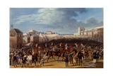 The Race Over, Print Made by Charles Hunt, 1836 Giclee Print by James Pollard